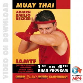 Muay Thai Program 1st to 4th Khan