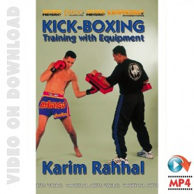 Kick Boxing Training with Equipment