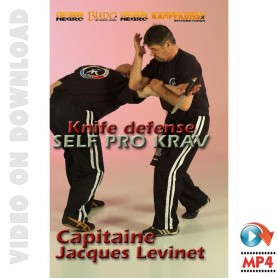 Self Pro Krav Defensa de cuchillo
