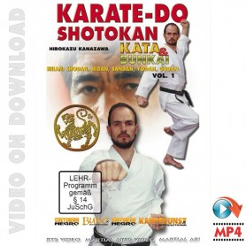 Karate-do Shotokan Kata y Bunkai Vol 1