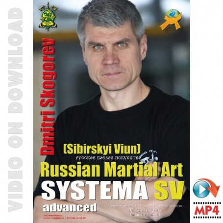 Russian Martial Art Systema SV Training Program Vol2