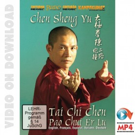 Tai Chi Chen Style Pao Chui Er Lu Form