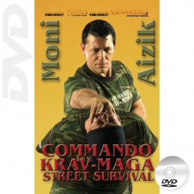 DVD Commando Krav Maga Street Survival