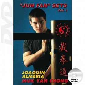 DVD Wooden Dummy JKD Jun Fan Sets