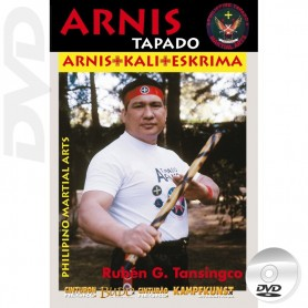 DVD Arnis Tapado Single Stick