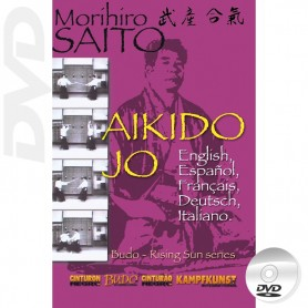 DVD Takemusu Aikido Jo Technique