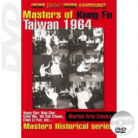DVD Kung-Fu historische Serie Masters Taiwan 1964