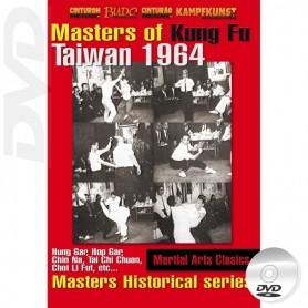 DVD Serie storica maestri di Kung Fu Taiwan 1964