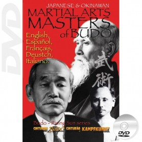 DVD Classic Martial Arts Masters of Budo Japan y Okinawa