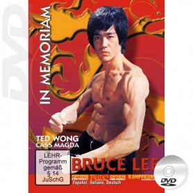 DVD Bruce Lee in Memoriam documentario