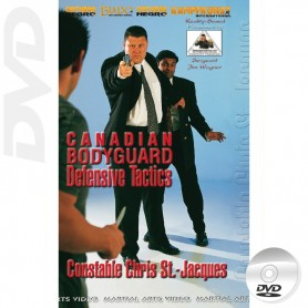 DVD Canadian Bodyguard Tactiques Défensives