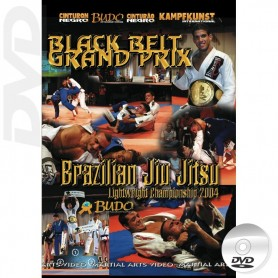 DVD Brazilian Jiu Jitsu Black Belt Grand Prix