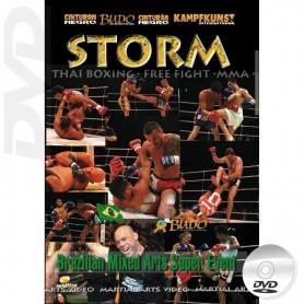 DVD Storm Samurai Brazil MMA y Muay Thai