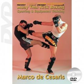 DVD Muay Thai Kick Boxing Sparring