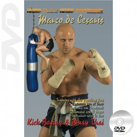 DVD Muay Thai y Kick Boxing El Saco