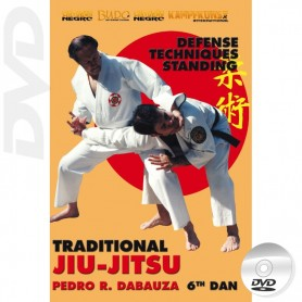 DVD Traditionelle Ju Jitsu Aufrecht Techniken