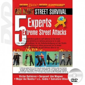 DVD Self Défense 5 Experts x 5 Street Attacks