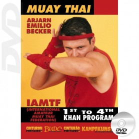 DVD Muay Thai Program 1st to 4th Khan