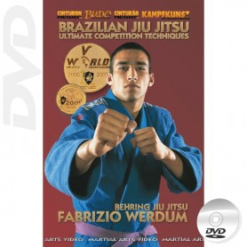 DVD Brazilian Jiu Jitsu Ultimate Competition Techniques 1