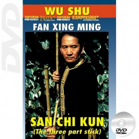 DVD Wu Shu San Jie Gun The 3 Section Staff