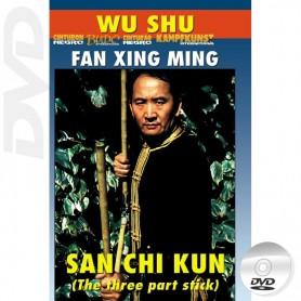 DVD Wu Shu San Jie Gun The 3 Section Staff