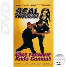 DVD Seal Program Combate con Cuchillo