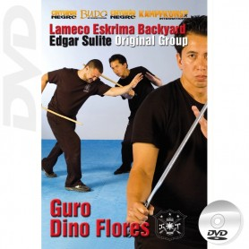 DVD Lameco Eskrima Backyard Sulite Original Group