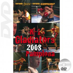 DVD K-1 Gladiators Tournament 2008 Spain