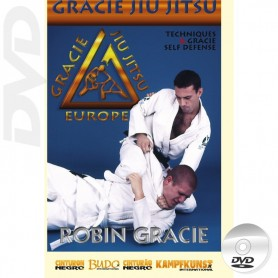 DVD Gracie Jiu Jitsu Throws & Self-defense