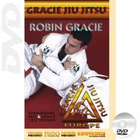 DVD Gracie Jiu Jitsu Submissions, escapes and Self Defense
