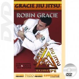DVD Gracie Jiu Jitsu Submissions, escapes and Self Defense