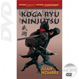 DVD Koga Ryu Ninjutsu Manos Vacias