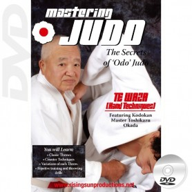 DVD Mastering Judo Te Waza Hand Techniques