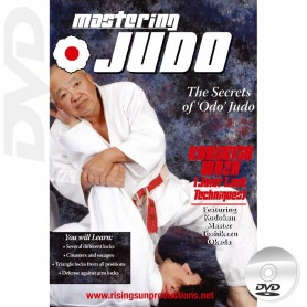 DVD Mastering Judo Kensetsu Waza Joint Locking