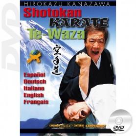 DVD Mastering Karate Te Waza