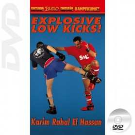 DVD Kick Boxing Explosive Low Kicks