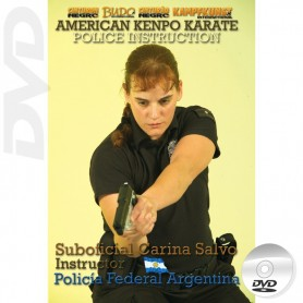 DVD American Kenpo Karate - Instrução Policial