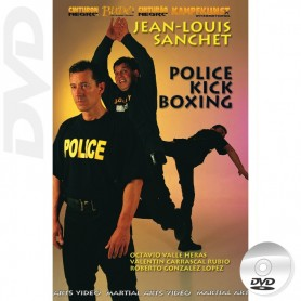 DVD Police Defense Kick Boxing