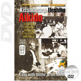 DVD Aikido Kisshomaru Ueshiba Interview y Technique