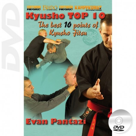 DVD Kyusho Jitsu Los mejores 10 puntos Kyusho
