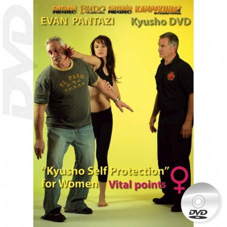 DVD Kyusho Self Défense Féminine