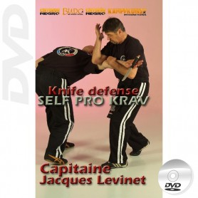 DVD Self Pro Krav Defensa de cuchillo