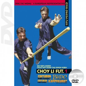 DVD Kung Fu Choy Li Fut Forms