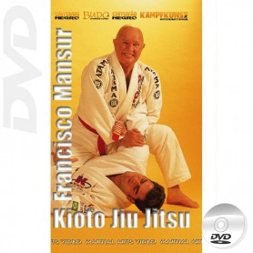 DVD BJJ Brasilian Jiu Jitsu Kioto System