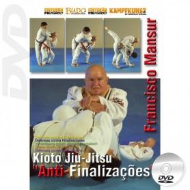 DVD BJJ Kioto Jiu Jitsu Defensa contra Finalizaciones