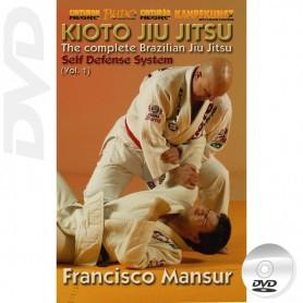 DVD Kioto Jiu-Jitsu Self Defense Vol 1