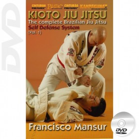 DVD BJJ Kioto Jiu-Jitsu Self Defense Vol 1
