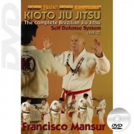 DVD Kioto Jiu-Jitsu Self Defense Vol 2