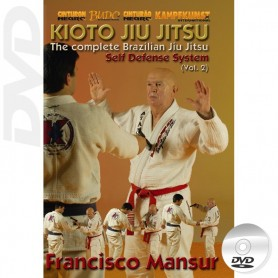 DVD BJJ Kioto Jiu-Jitsu Self Defense Vol 2