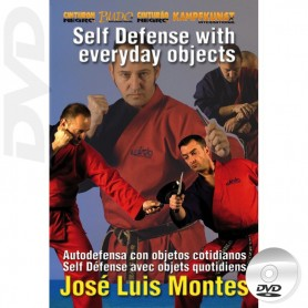 DVD Defensa Personal con objetos cotidianos